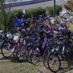 Bicycle parking lot (StreetView)