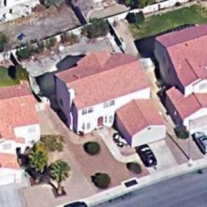 """The Simpson's"" Replica Home in Henderson NV (Google Maps)"