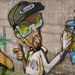 Graffiti art wall (StreetView)