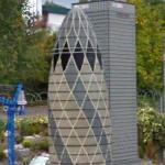 "LEGO Model of the ""Gherkin"""