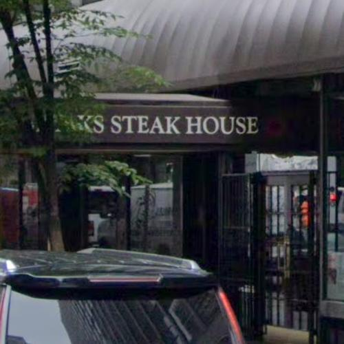 Site of the Steakhouse Massacre (StreetView)