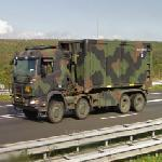 Dutch military truck (StreetView)