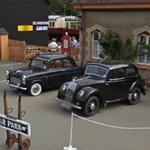 Morris 8 Series E - 2 Door Saloon & Ford Anglia 101E (StreetView)