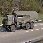 Swiss military truck (StreetView)