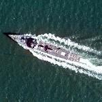 Arleigh Burke class destroyer (Google Maps)