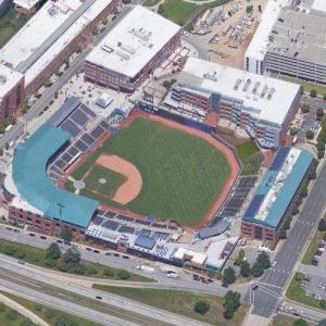 Durham Bulls Athletic Park (Google Maps)