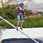Bungee trampoline (StreetView)