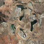 Carmen de Andacollo copper mine (Google Maps)
