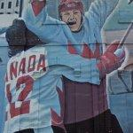 Paul Henderson Summit Series mural