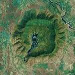 Ramgarh Crater (Google Maps)