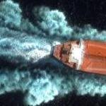 Supertanker off of Rio De Janeiro