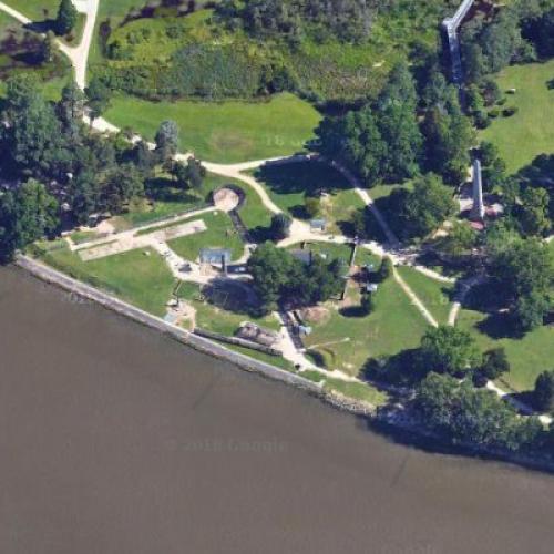 Jamestown Fort (Google Maps)