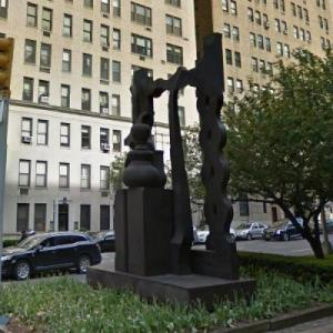 'Night Presence IV' by Louise Nevelson (StreetView)