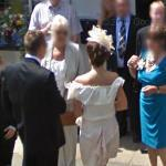 Wedding caught on Google Street View (StreetView)
