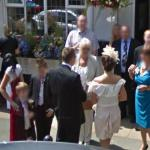 Wedding caught on Google Street View