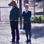 Horse boy the Second! (StreetView)