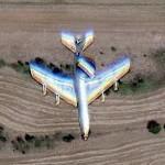 "Boeing E-3 ""Sentry"" (Google Maps)"
