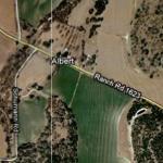 Ghost town of Albert, Texas (Google Maps)