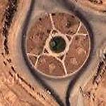 Iraqi Traffic Circle III (Google Maps)