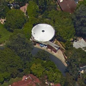'Zimmerman Residence' by John Lautner (Google Maps)