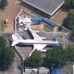 Airplanes - Lisa Marie and Hound Dog 2 (Static Display) (Google Maps)