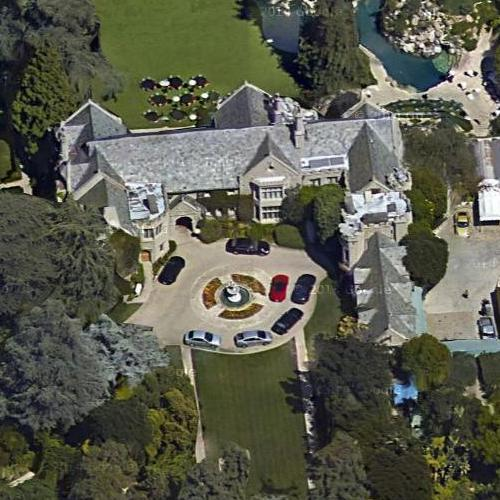 Hugh Hefner S Home Playboy Mansion In Los Angeles Ca Google Maps
