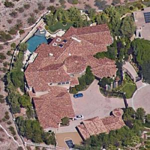 Criss Angel's House (Not) (Google Maps)