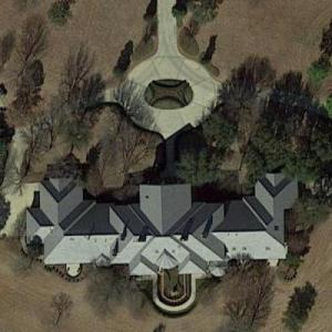Kenneth Copeland's house (Google Maps)
