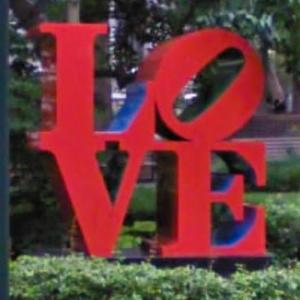 'LOVE' by Robert Indiana (StreetView)