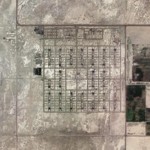 Topaz War Relocation Center (Google Maps)