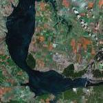 Kuybyshev Reservoir (Google Maps)