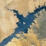 Lake Nasser (Google Maps)