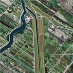 Red River Floodway (Duff's Ditch) (Google Maps)