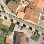 Jouy-aux-Arches Roman aqueduct (Google Maps)