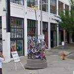'People's Bike Library of Portland' by Brian Borrello & Vanessa Renwick (StreetView)