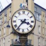 Tollcross clock (StreetView)