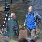 Camera man and photographer (StreetView)