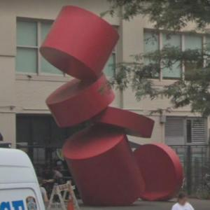 'Balanced Cylinders' by Paul Sisko (StreetView)