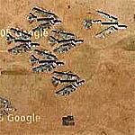 Broken B-52s (Google Maps)