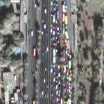 Colorful Beijing Traffic (Google Maps)