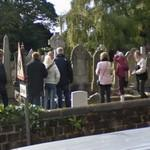 Visiting Eleanor Rigby's grave (StreetView)